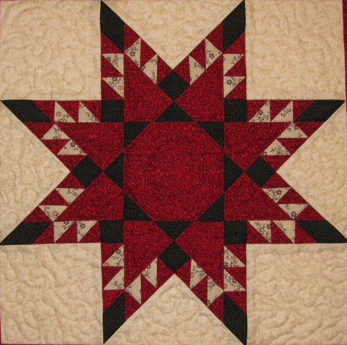 Feathered Star Block