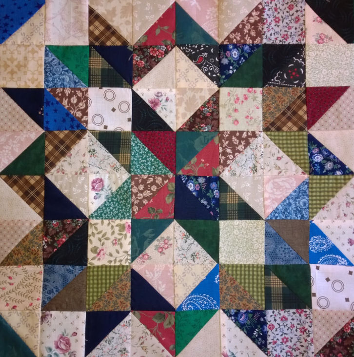 Wagon Wheel Buggy Wheel Quilt Block